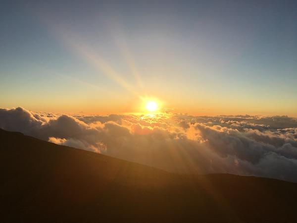 ハレアカラ山